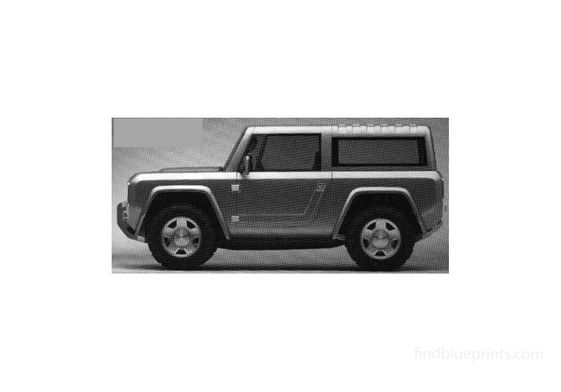 Ford Bronco Concept SUV 2005