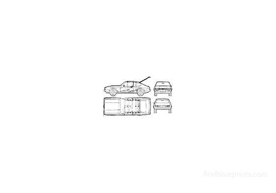 Ford Capri Mk 3 Coupe 2000