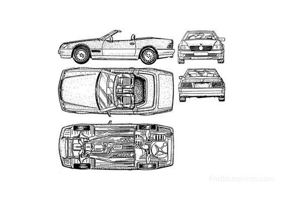 Mercedes SL 600 Old Cabrio