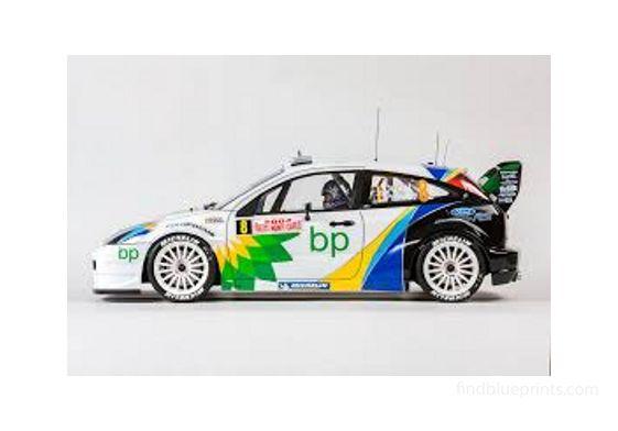 Ford Focus WRC Hatchback 2004
