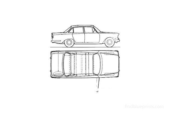Ford Zodiac Mk III Sedan 1964