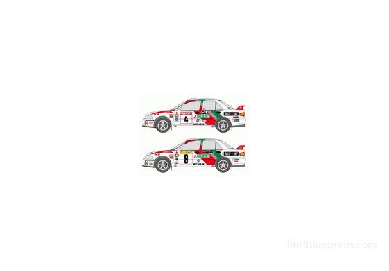 Mitsubishi Lancer Evo 1993 Monte Carlo