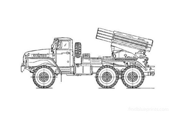 Ural 4320 BM 21 1 Grad
