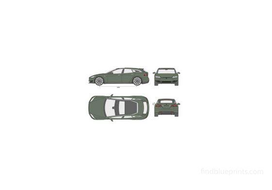 Tesla Model S Shooting Brake 2018