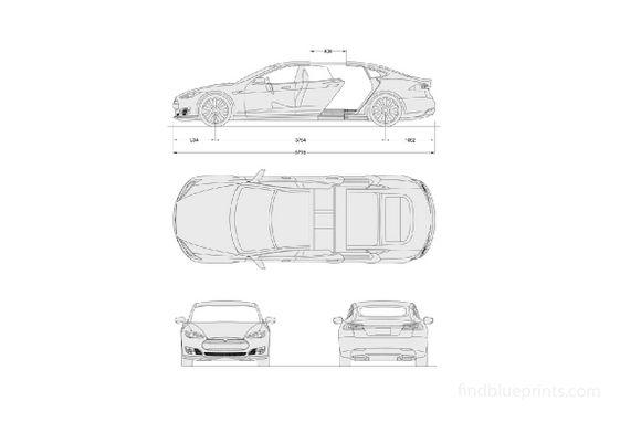 Remetz Chassis Tesla Model S 2018