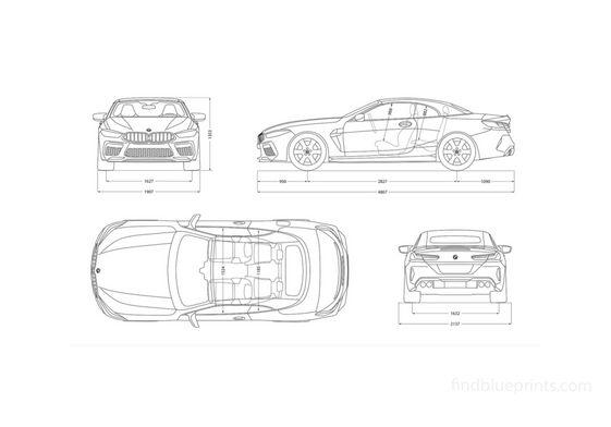 BMW M8 Cabrio 2020