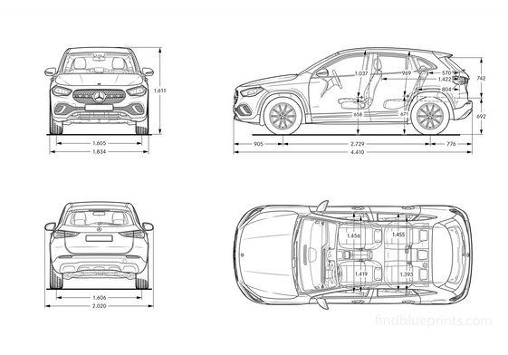 Mercedes-Benz GLA (H247) 2020