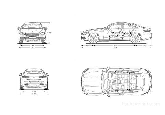 MERCEDES BENZ E-Class Coupe (C238) 2016