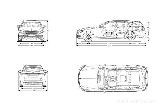 MERCEDES BENZ E-Class T-Modell All-Terrain (S213) 2017